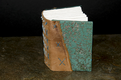 Small Turquoise Journal - Front
